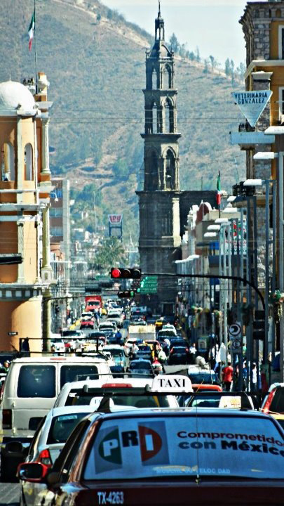 Downtown Tepic, Mexico